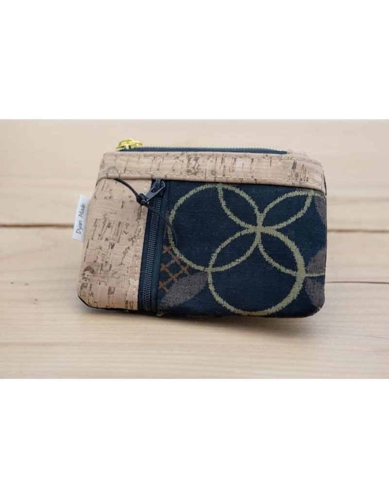 Double Zip Mini Wallet - Option 4