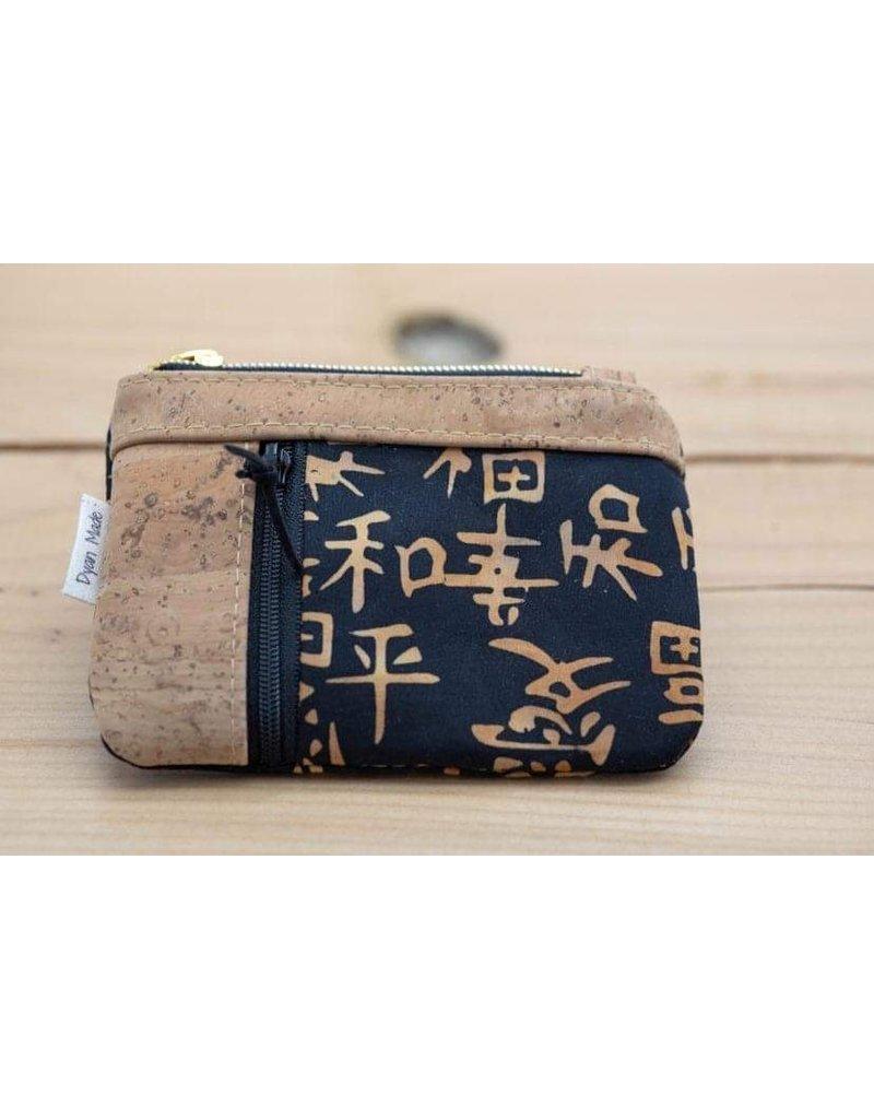 Dyan Made Double Zip Mini Wallet - Option 6