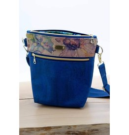 Dyan Made Navy Claire Bag