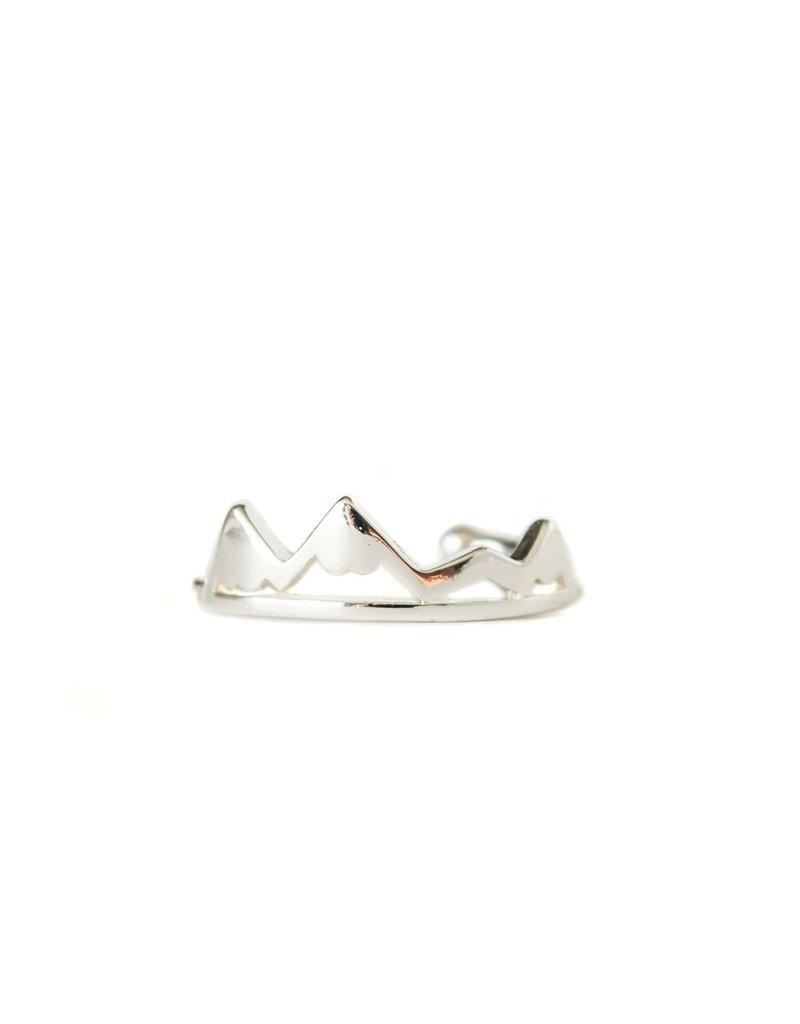 Lace Brick Designs Alpine Ring - Silver