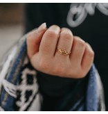 Lace Brick Designs Alpine Ring- Rose Gold