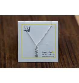 """Swallow Jewellery Seaweed from Dallas Rd Victoria 18"""" Necklace"""