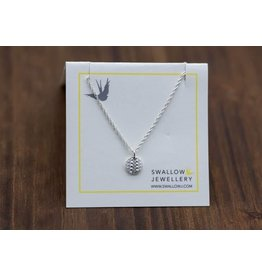 """Swallow Jewellery Sea Urchin from Middle Beach Tofino 16"""" Necklace"""