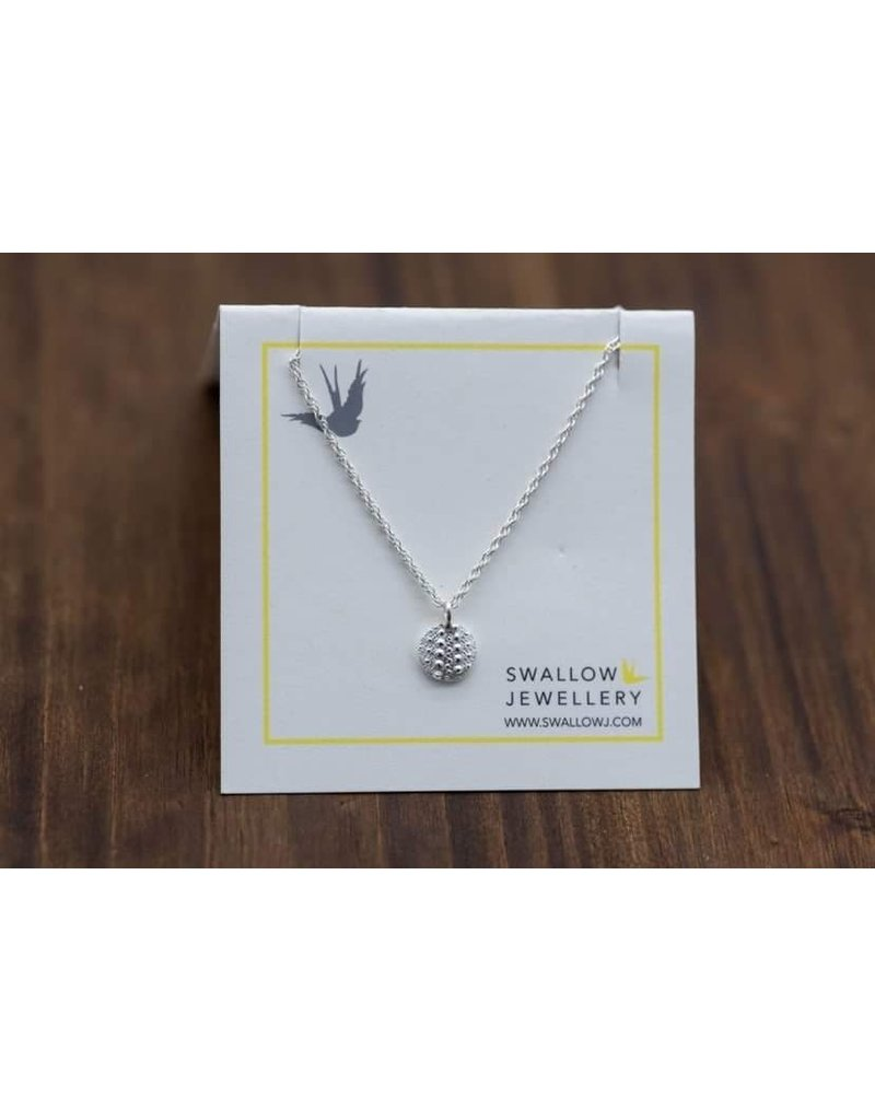 "Swallow Jewellery Sea Urchin from Middle Beach Tofino 16"" Necklace"