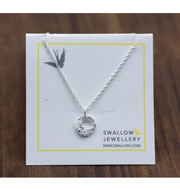 """Swallow Jewellery Round Coral from Chesterman Beach 16"""" Necklace"""