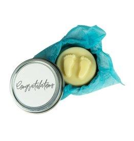 Wild Jasmine Congratulations (Baby Feet) Body Lotion Bar