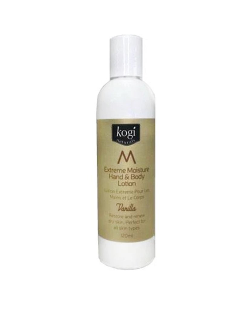 Kogi Naturals Vanilla Hand & Body Lotion 120ml