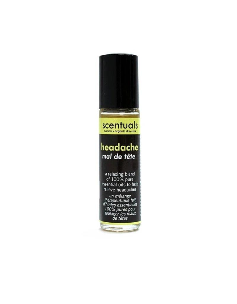 Scentuals Natural & Organic Skincare Headache Roll- On