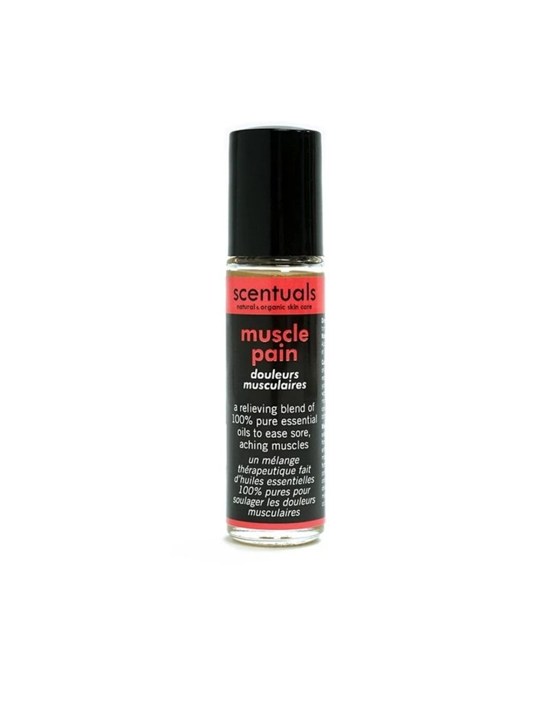 Scentuals Natural & Organic Skincare Muscle Pain Roll-On