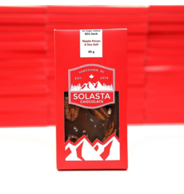 Solasta Sugar Free Maple Pecan 55% Dark Chocolate