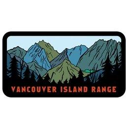 Bough & Antler Vancouver Island Range Vinyl Sticker