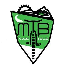 Bough & Antler MTB Van Isle Sticker