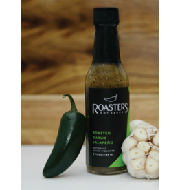Roasters Hot Sauce Roasted Garlic Jalapeno