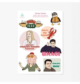 Party Mountain Paper Co Friends Sticker Pack