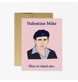 Party Mountain Paper Co Valentine Mike Card