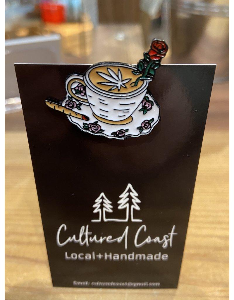 Cultured Coast Wake and Bake Pin
