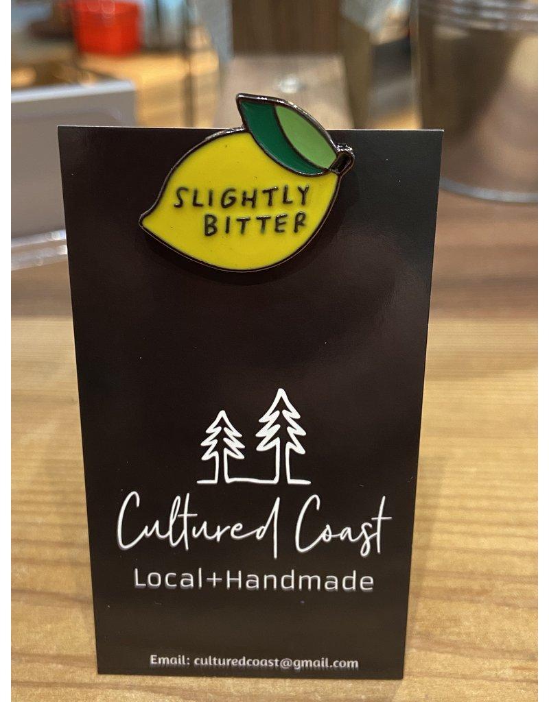 Cultured Coast Slightly Bitter Pin