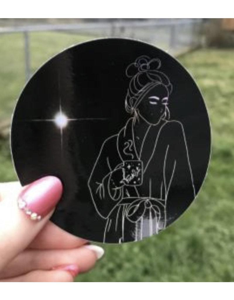 Formula Debs Artwork Holographic Fuck it Sticker