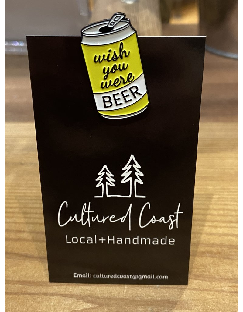 Cultured Coast Beer Pin