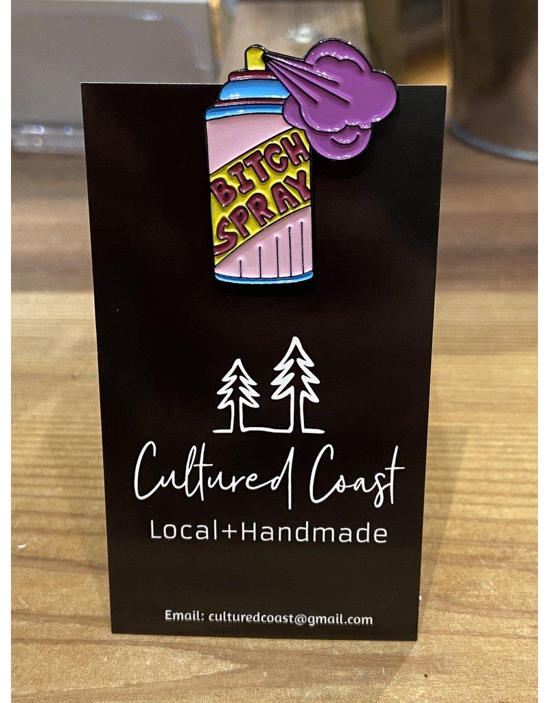 Cultured Coast Bitch Spray Pin