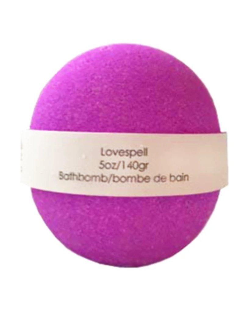 Backwoods Soap & Co Love Spell Bathbomb
