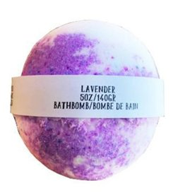 Backwoods Soap & Co Lavender Bathbomb