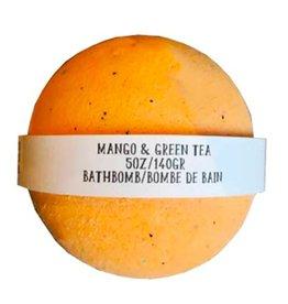Backwoods Soap & Co Mango & Green Tea Bathbomb