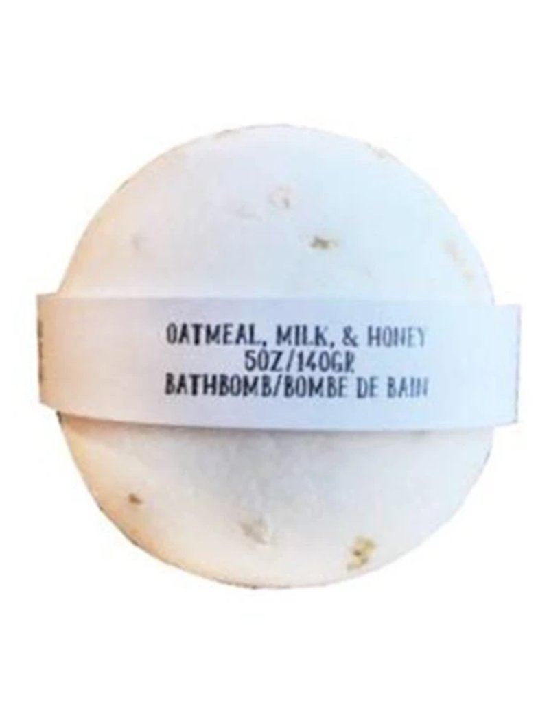 Backwoods Soap & Co Oatmeal Milk & Honey Bathbomb