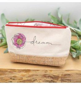 Dyan Made 'Dream' Waterproof Cork Bag (Red)