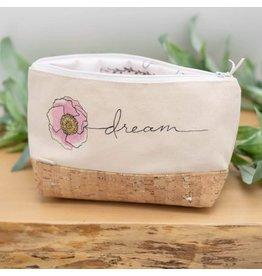 Dyan Made 'Dream' Waterproof Cork Bag (White)