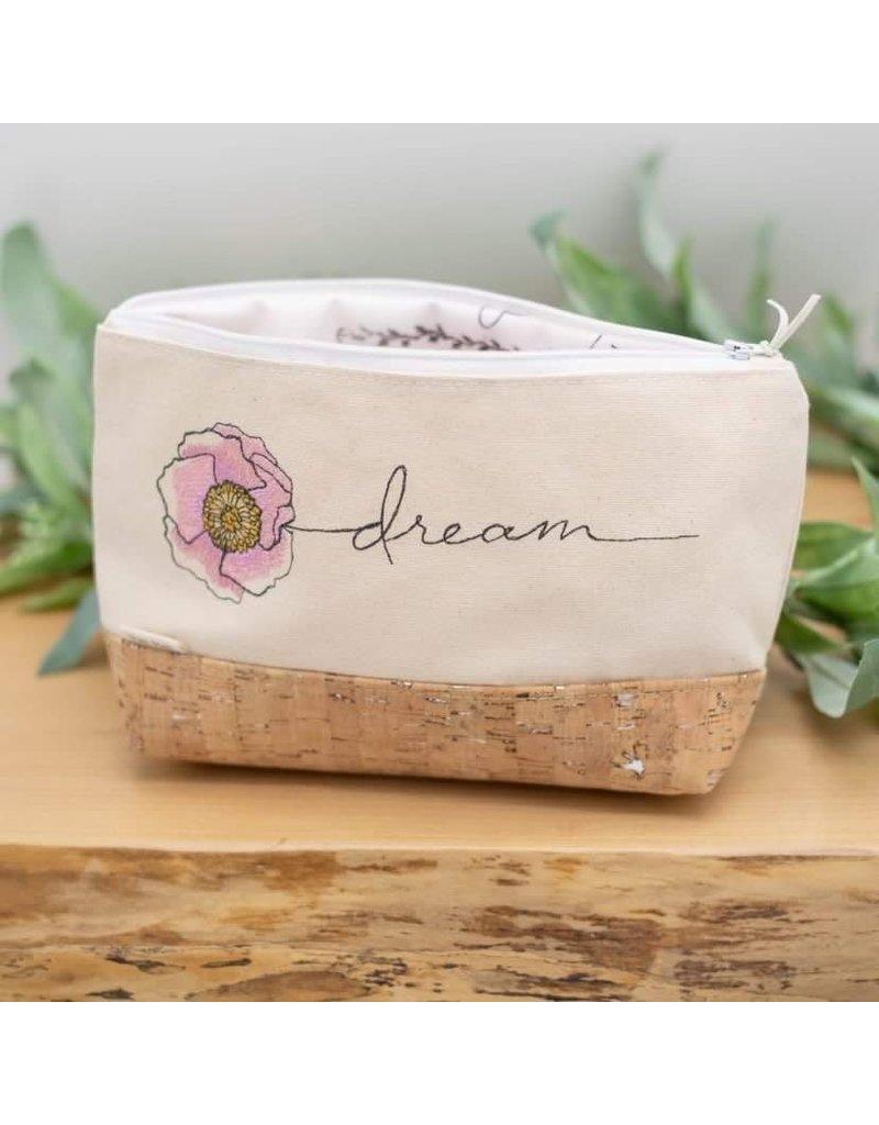 'Dream' Waterproof Cork Bag (White)