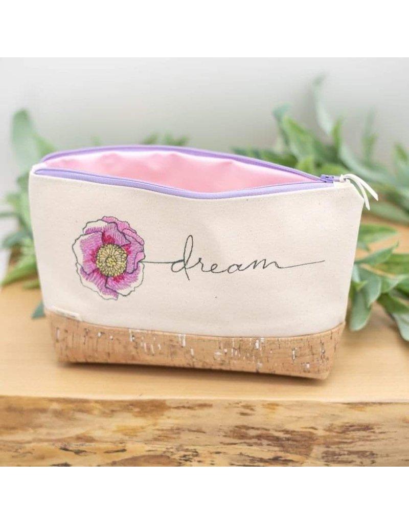 Dyan Made 'Dream' Waterproof Cork Bag (Lavender)