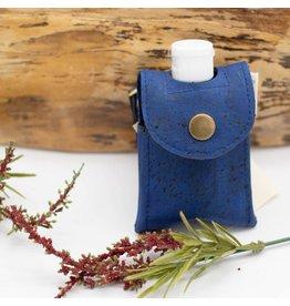 Dyan Made Royal Blue Cork Sanitizer Holder