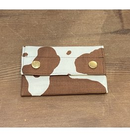 Dyan Made Cow Print Wallet