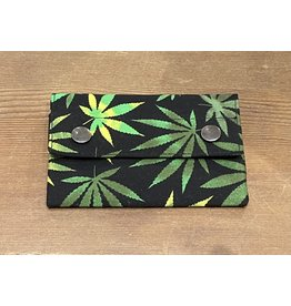 Dyan Made Pot Leaf Wallet