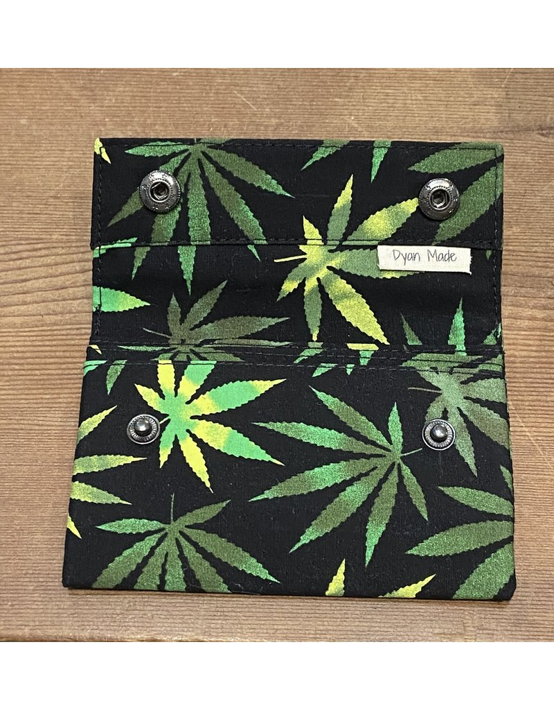 Dyan Made Pot Leaf Wallet