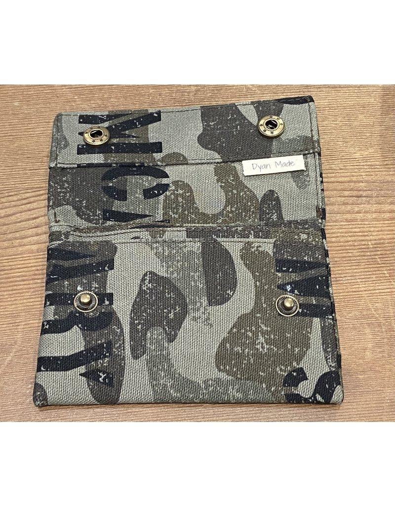 Dyan Made Camo Wallet