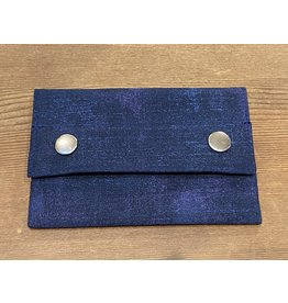Dyan Made Navy Wallet