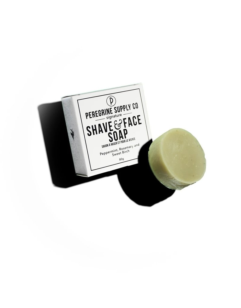 Peregrine Supply Co. Shave and Face Soap