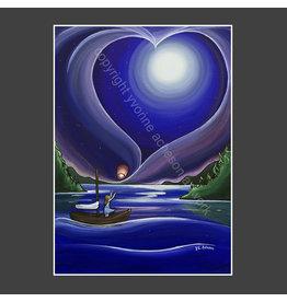 Yvonne Acheson Art Surrender Greeting Card