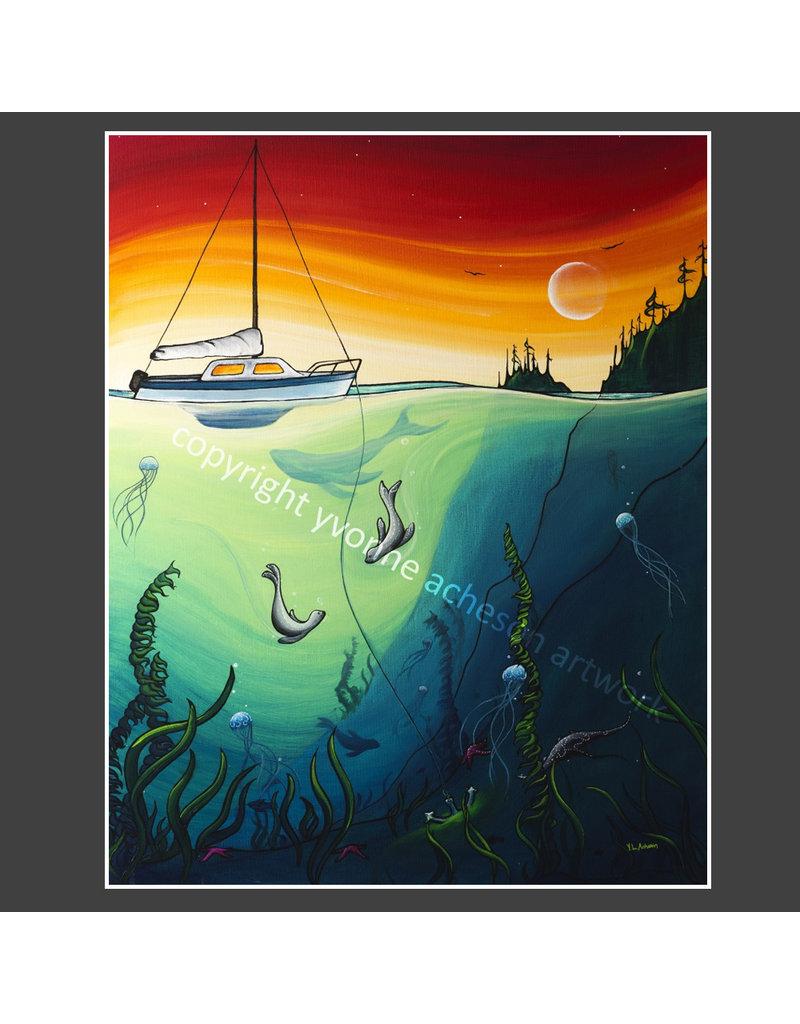 """Yvonne Acheson Art Anchor 24""""x 30"""" Canvas Print"""