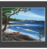 Yvonne Acheson Art Nanoose Bay Medium Framed Print