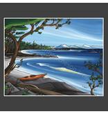 Yvonne Acheson Art Nanoose Bay Small Framed Print