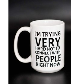 Cultured Coast Trying not to Connect 15oz Mug