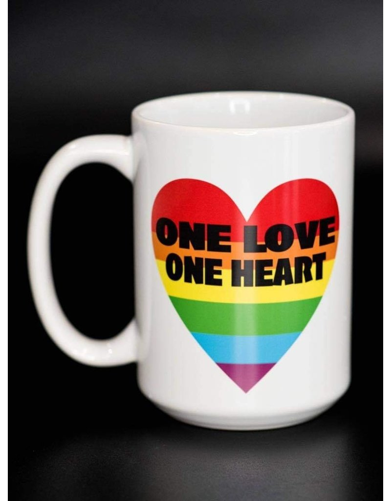 Cultured Coast One Heart One Love 15oz Mug