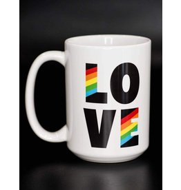Cultured Coast Rainbow Love 15oz Mug