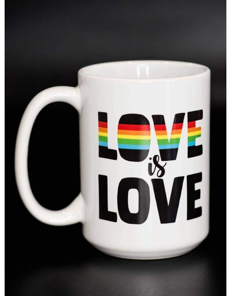 Cultured Coast Love is Love 15oz Mug
