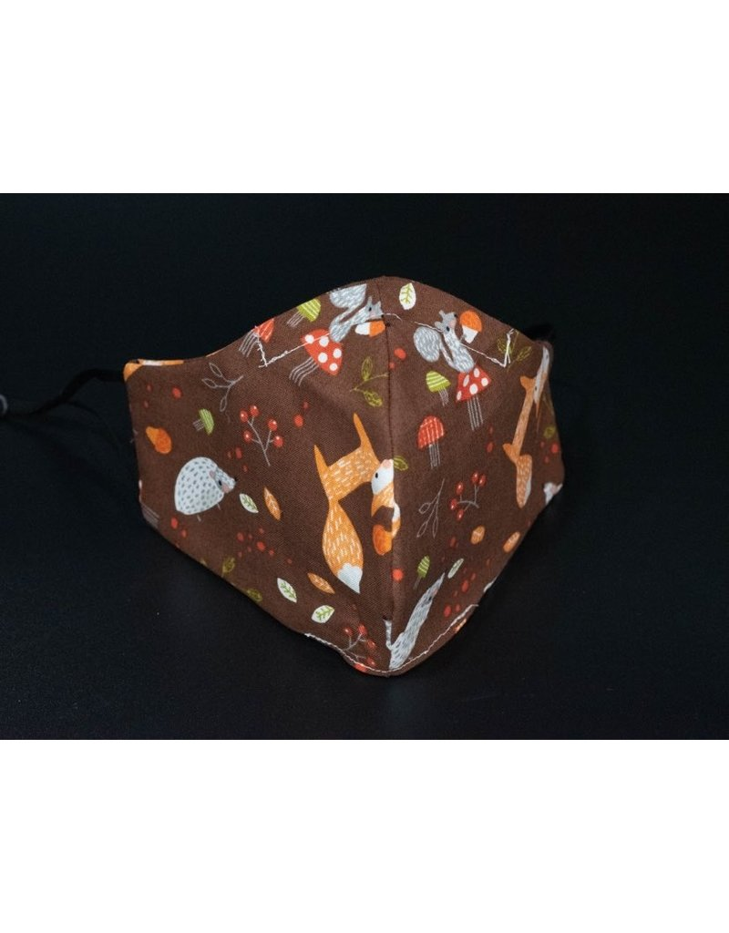 Buffy's Face Diapers Fox/Hedgehog Adult Mask