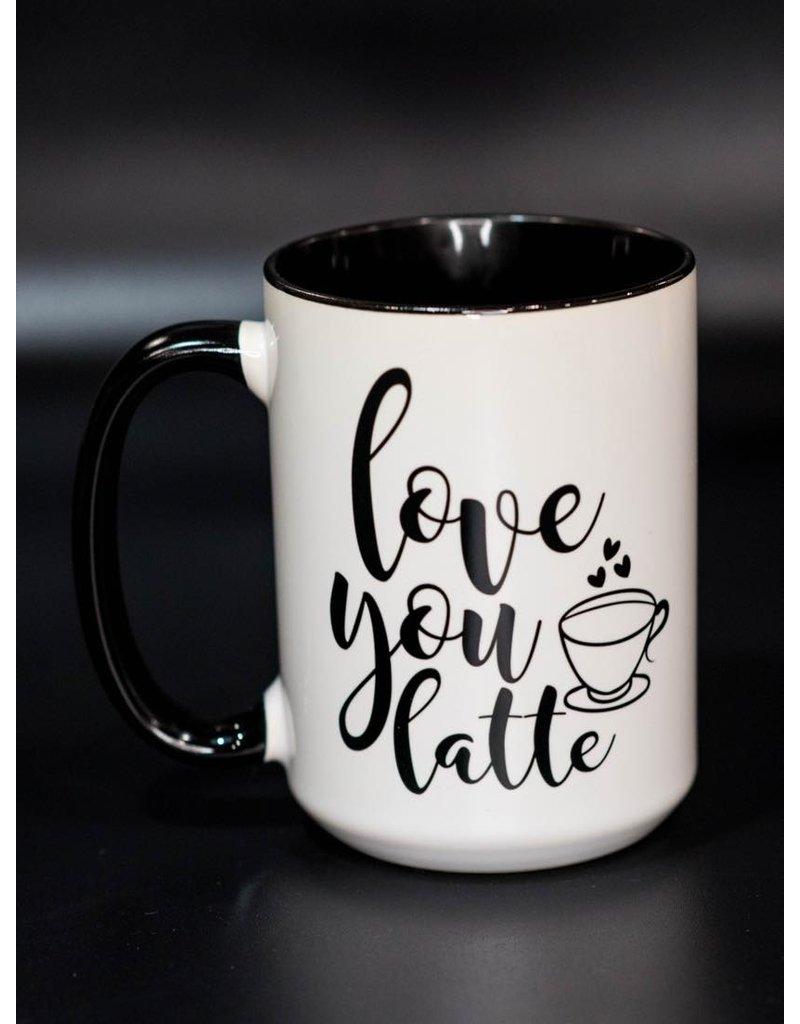 Cultured Coast Love you Latte 15oz Mug