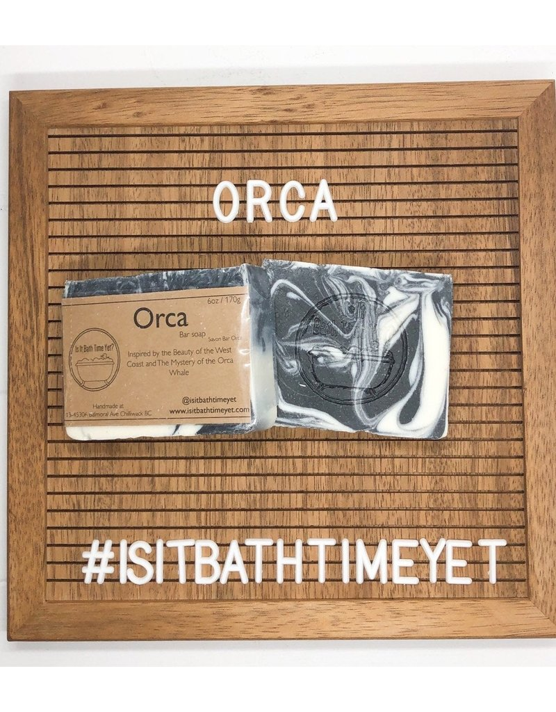 Is It Bath Time Yet? Orca Soap